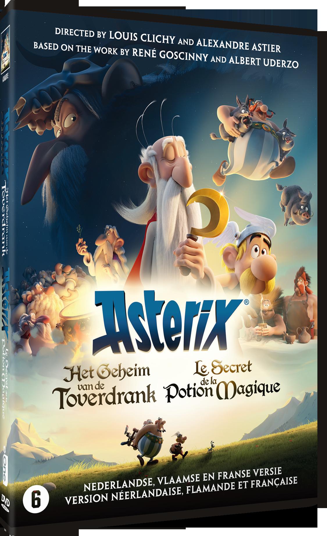 Asterix: Het Geheim van de Toverdrank - DVD Cover
