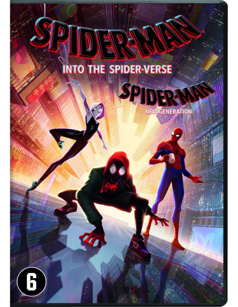 Spider-Man: Into The Spider-Verse - DVD Cover (Voorkant)