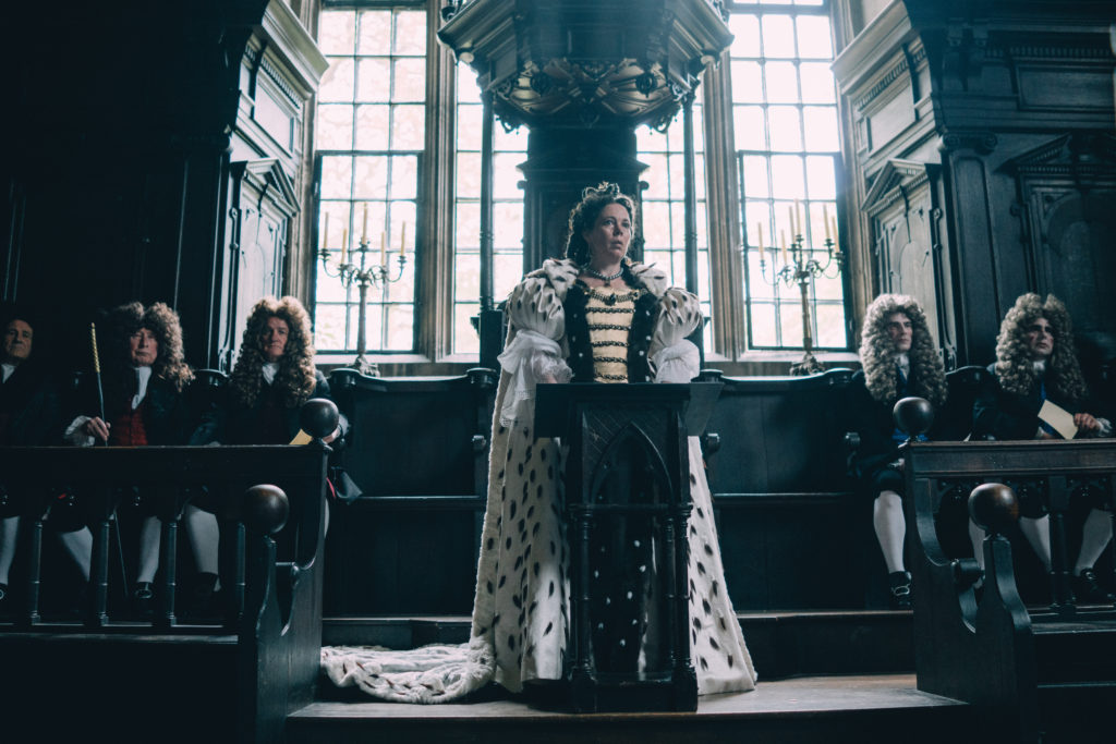 The Favourite st 6 jpg sd high © 2018 Twentieth Century Fox Film Corporation All Rights Reserved