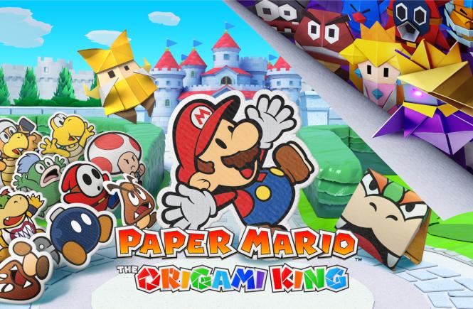 Paper Mario The Origami King Uitgelichte Afbeelding