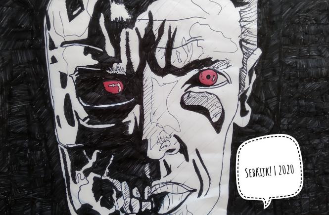 The Terminator 1984 Tekening