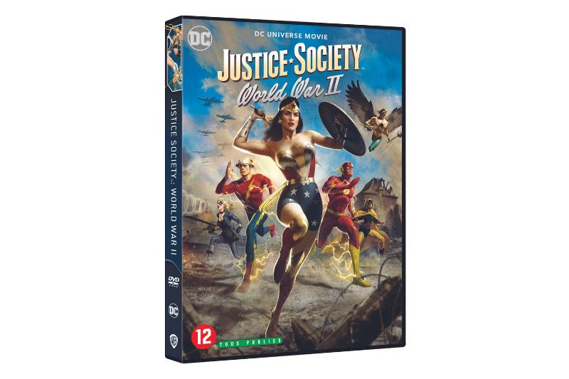 Justice Society: World War II Giveaway